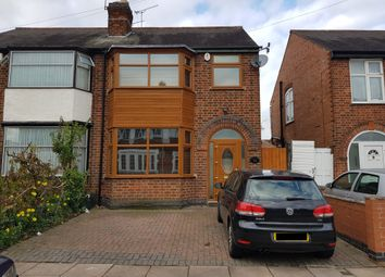 Thumbnail 3 bedroom semi-detached house for sale in Kedleston Road, Leicester