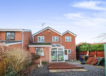 Thumbnail 4 bed detached house for sale in Clover Meadows, Heath Hayes, Cannock