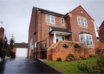 Thumbnail 4 bed detached house for sale in Helston Crescent, Barnsley