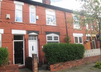 Thumbnail 2 bed terraced house to rent in Fernleigh Avenue, Levenshulme, Manchester