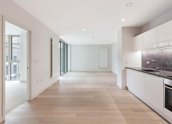Thumbnail 1 bed terraced house to rent in Liner House, 2 Royal Wharf Walk, London