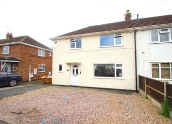 Thumbnail 3 bed semi-detached house for sale in Preston Drive, Newbold Verdon, Leicester