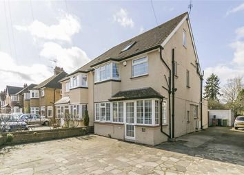 Thumbnail 4 bed semi-detached house for sale in Temple Road, Epsom, Surrey