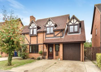 Thumbnail 4 bed detached house for sale in Nursery Gardens, St. Ives, Huntingdon