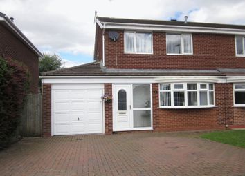 Thumbnail Semi-detached house to rent in Linburn Drive, Bishop Auckland