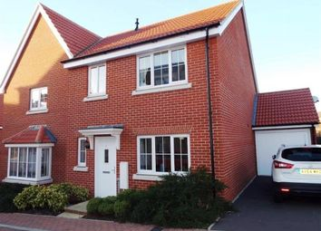 Thumbnail 4 bedroom semi-detached house for sale in Stowmarket, Suffolk