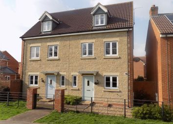 Thumbnail 3 bed semi-detached house for sale in Casterbridge Road, Swindon
