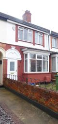 Thumbnail 2 bed terraced house to rent in Poplar Grove, Cleethorpes