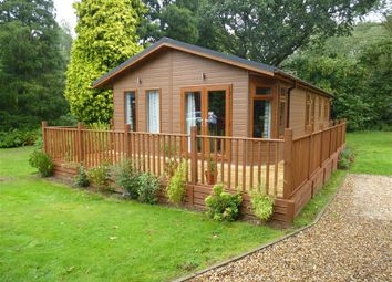 Thumbnail 2 bedroom mobile/park home for sale in 37 Lodge Park, Haveringland, Norwich