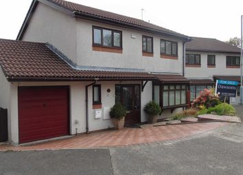 Thumbnail 4 bed detached house for sale in Bryn Derw Gardens, Morriston, Swansea