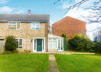 Thumbnail 3 bedroom end terrace house for sale in Lymn Court, Grantham