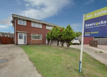 Thumbnail 3 bed semi-detached house for sale in Briar Close, South Killingholme, Immingham