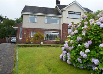Thumbnail 3 bedroom semi-detached house for sale in Gwerneinon Road, Swansea