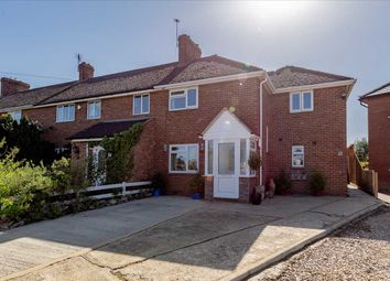 Thumbnail 4 bed end terrace house for sale in Town End Crescent, Stoke Goldington, Milton Keynes