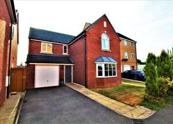 Thumbnail 4 bed detached house for sale in Weavers Close, Bulkington, Bedworth
