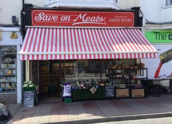 Thumbnail Retail premises for sale in 118 Reddenhill Road, Torquay