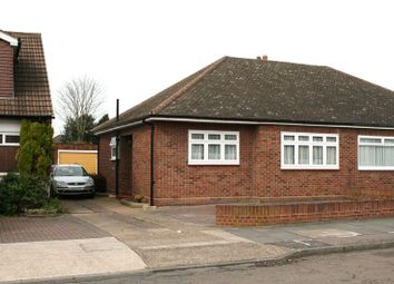 Thumbnail 2 bed bungalow to rent in Hunter Drive, Hornchurch