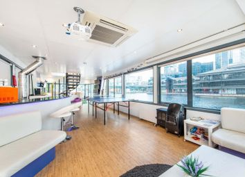 Thumbnail 2 bed houseboat for sale in Millharbour, Canary Wharf