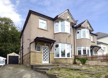Thumbnail 3 bed semi-detached house for sale in Branksome Drive, Shipley, West Yorkshire