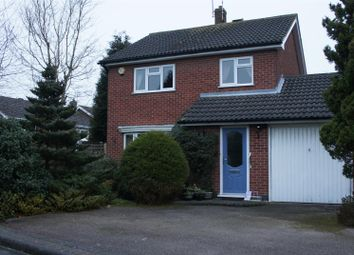 Thumbnail 3 bedroom detached house for sale in Bowmans Way, Glenfield, Leicester