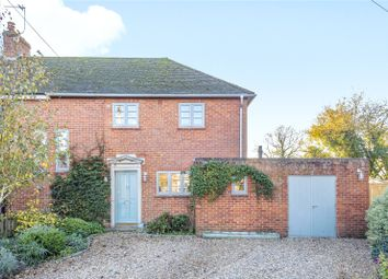 Thumbnail 3 bed semi-detached house for sale in Thurstons, Binsted, Alton, Hampshire