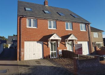 Thumbnail 4 bed town house for sale in Clearmount Road, Weymouth