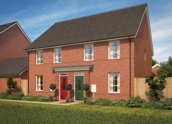 "Thumbnail 3 bed semi-detached house for sale in ""Finchley"" at Pinn Lane, Pinhoe, Exeter"