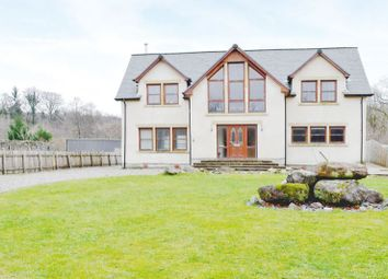 Thumbnail 4 bed detached house for sale in Helian, Rowanbank, Dalmally Near Oban PA331Ae