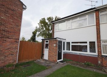 Thumbnail 3 bedroom end terrace house for sale in Hanwood Close, Woodley, Reading, Berkshire