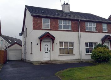 Thumbnail 3 bed semi-detached house for sale in Redwood Park, Coleraine