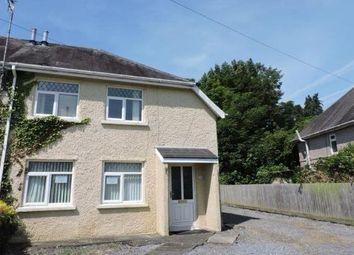 Thumbnail 2 bed semi-detached house to rent in Lliedi Crescent, Llanelli