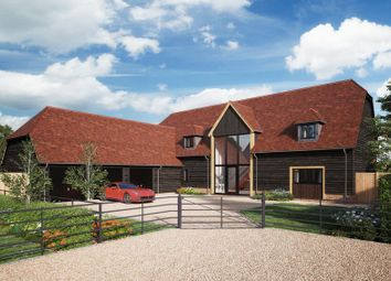Thumbnail 4 bedroom detached house for sale in Hawkswood, Dropshort Farm, Childrey