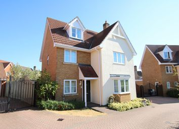 Thumbnail 5 bedroom detached house for sale in Woodlands Park Drive, Dunmow