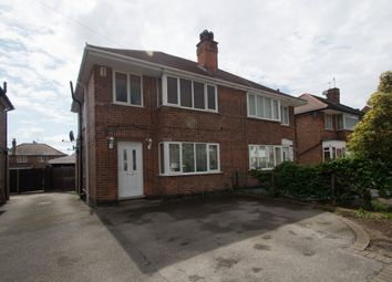 Thumbnail 3 bed semi-detached house for sale in Heatherley Drive, Old Basford, Nottingham