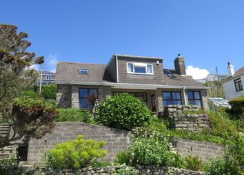 Thumbnail 4 bed detached house for sale in Chy An Dour Road, Praa Sands, Penzance
