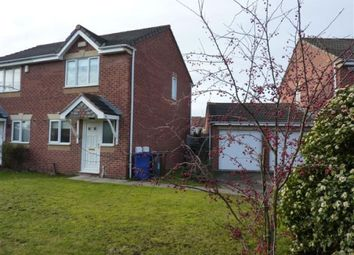 Thumbnail 2 bed semi-detached house to rent in Shipley Close, Branston, Burton-On-Trent