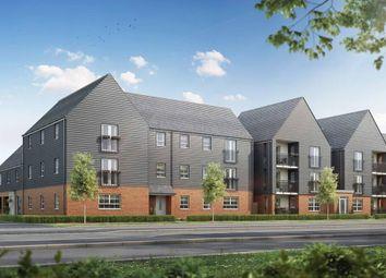 "Thumbnail 2 bedroom flat for sale in ""Ambersham"" at Broughton Crossing, Broughton, Aylesbury"