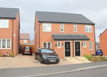 Thumbnail 2 bed semi-detached house for sale in Balmoral Close, Duston, Northampton