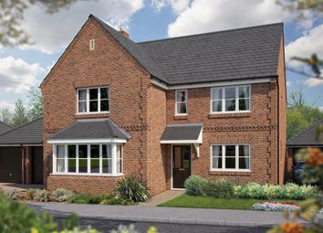 "Thumbnail 5 bed detached house for sale in ""The Arundel"" at North End Road, Steeple Claydon, Buckingham"