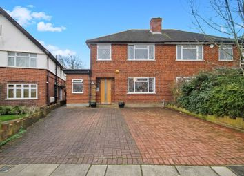 Thumbnail 4 bed semi-detached house for sale in Ormsby Gardens, Greenford
