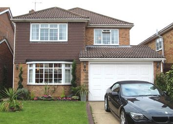 Thumbnail 4 bed detached house for sale in Martingale, Thundersley, Essex