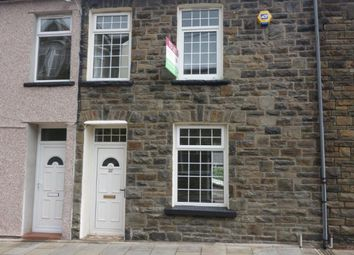 Thumbnail 3 bed terraced house to rent in Fredrick Street, Ferndale