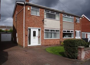 Thumbnail 3 bed semi-detached house to rent in Wellington Avenue, North Anston, Sheffield