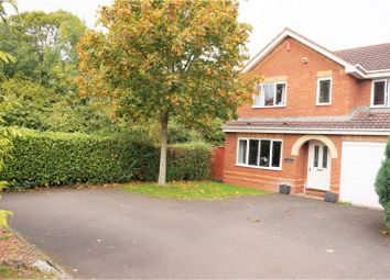 Thumbnail 4 bed detached house for sale in Okehampton Road, Leegomery Telford