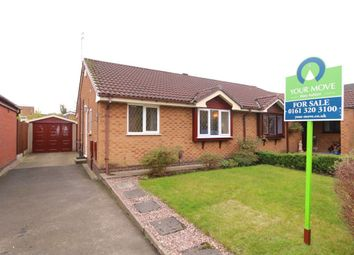 Thumbnail 2 bed bungalow for sale in Hartswood Close, Denton, Manchester