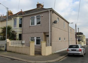 Thumbnail 2 bed flat to rent in North Road, Torpoint