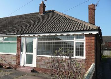 Thumbnail 1 bed bungalow to rent in Northumberland Avenue, Thornton-Cleveleys