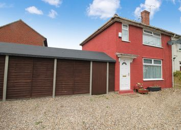 Thumbnail 3 bedroom end terrace house for sale in Harmer Road, Norwich