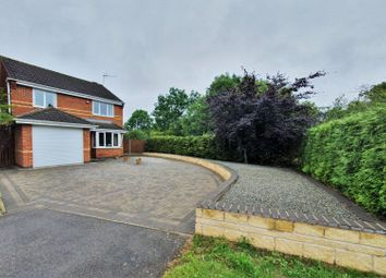 Thumbnail 3 bed detached house for sale in Attenborough Close, Thorpe Astley, Leicester