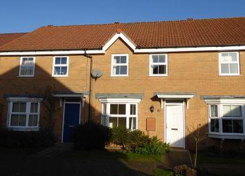Thumbnail 3 bed terraced house for sale in Siskin Road, Uppingham, Oakham